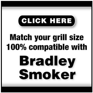 Grillmats by frogmats for the Bradley Smoker