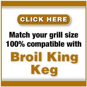 frogmats for Broil King Keg